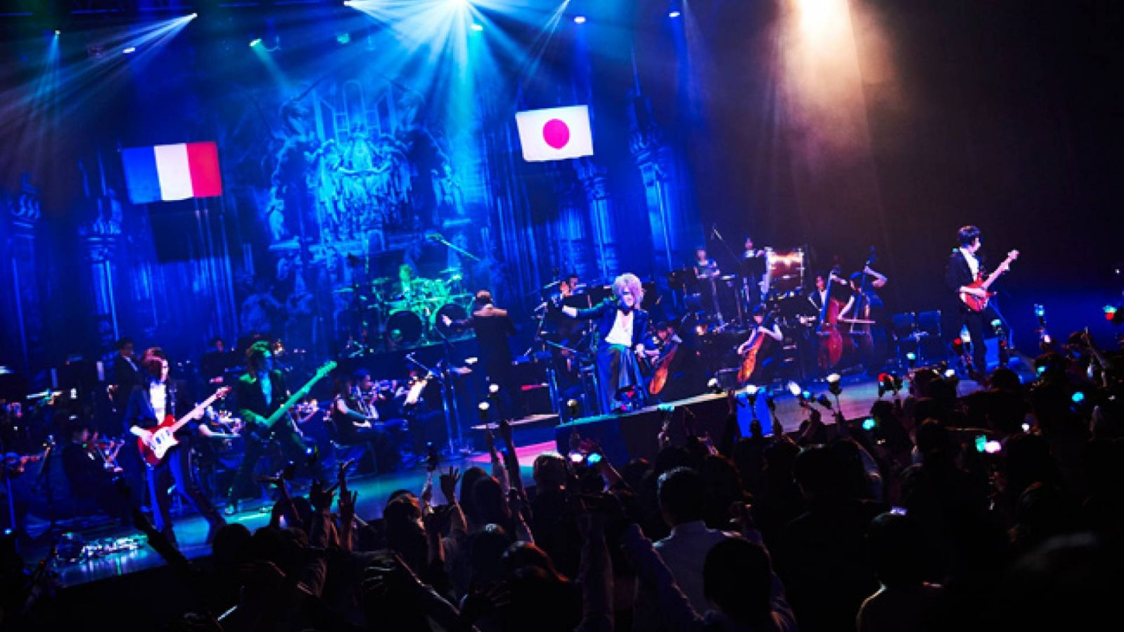 "Sang Project ActVII Dream Live ""Symphony of The Vampire"" KAMIJO with Orchestra en el EX THEATER ROPPONGI © KEIKO TANABE (TAMARUYA Co.,Ltd)"