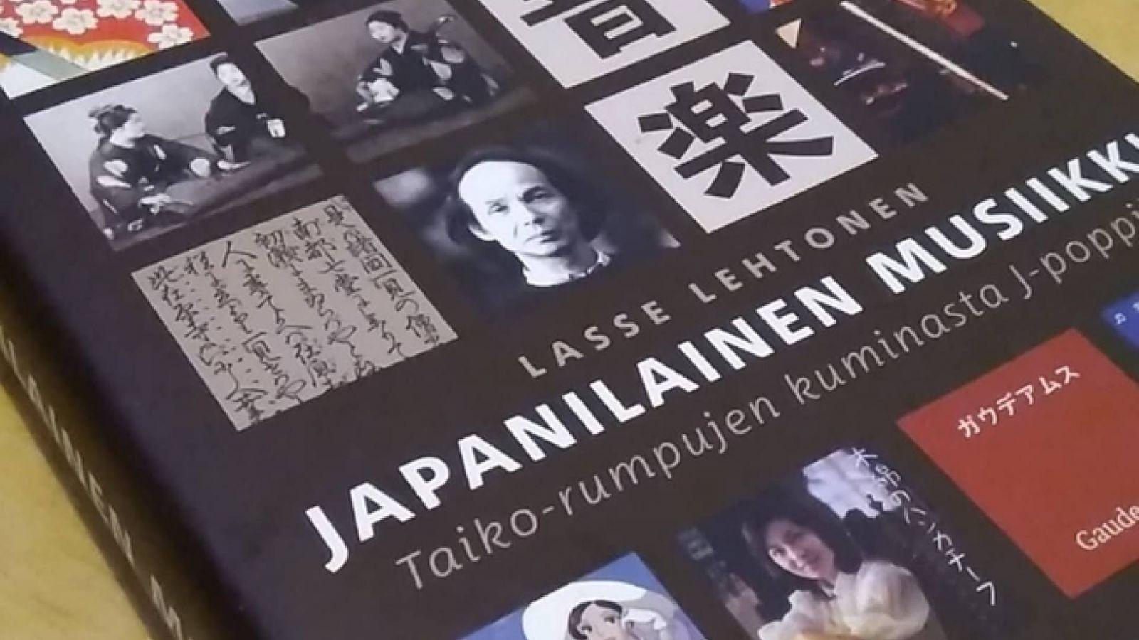 Kirjaesittelyssä Lasse Lehtosen Japanilainen musiikki - Taiko-rumpujen kuminasta J-poppiin © All Rights Reserved.