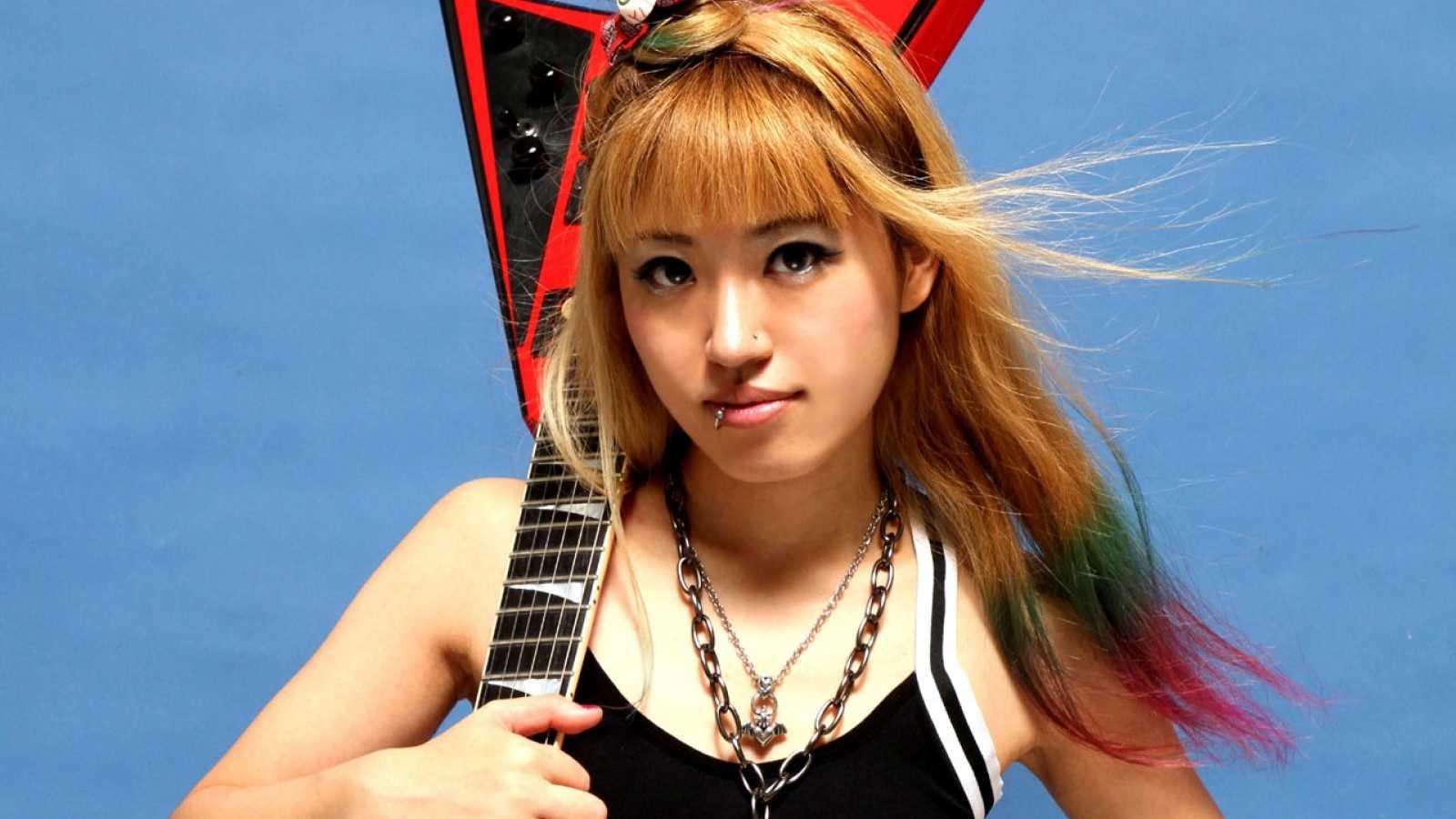 Rie a.k.a. Suzaku © Poppin Records