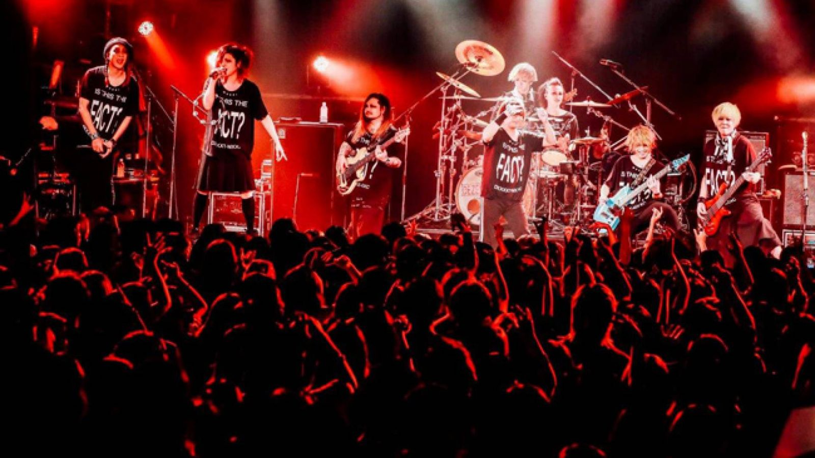 "MUCC DEZERT 2MAN LIVE【Is This The ""FACT""?】en el Ebisu LIQUIDROOM © Taichi Nishimaki"