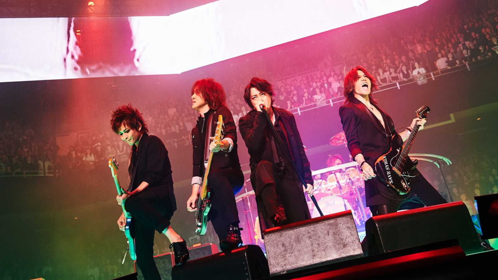 LUNA SEA 30th anniversary LIVE -Story of the ten thousand days- at Nippon Budokan Day 1 © Keiko Tanabe / Rui Hashimoto