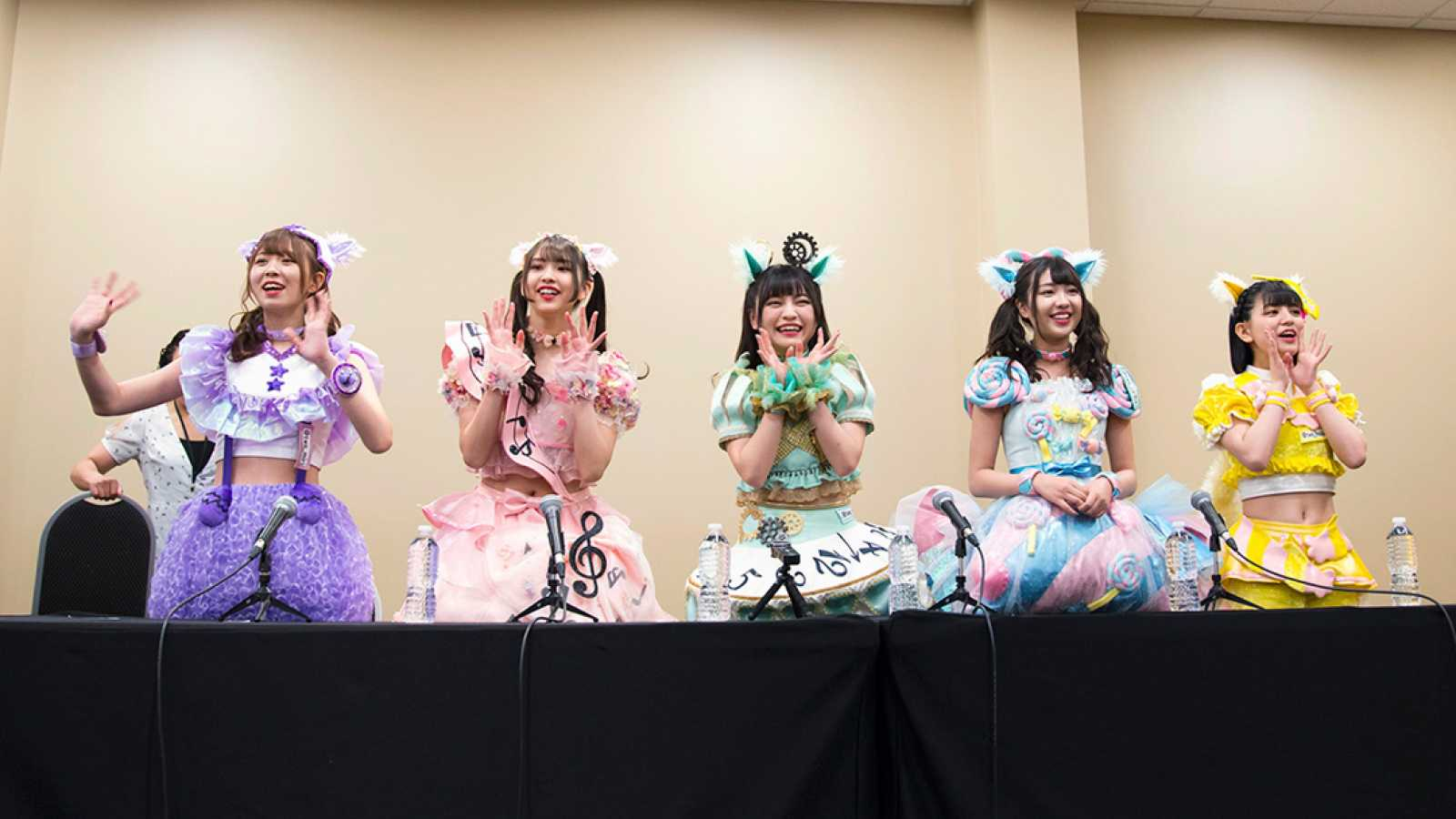 Q&A with Wasuta at Anime North 2019 © Avex Management/Stephen Echavia (J-rock North Promotions)