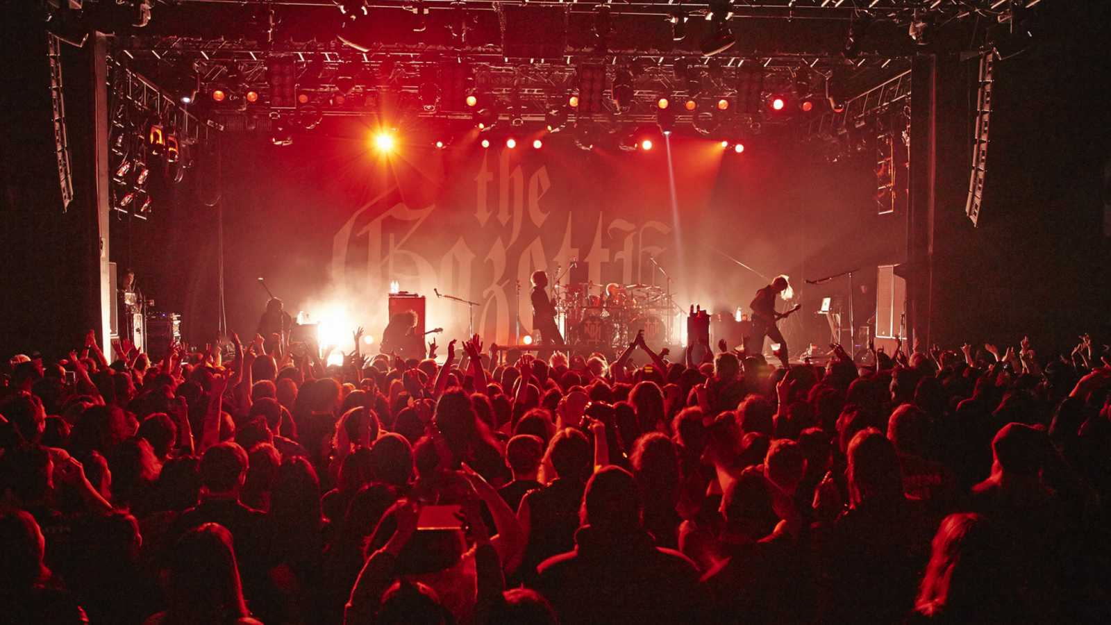 the GazettE w nowojorskim PlayStation Theater