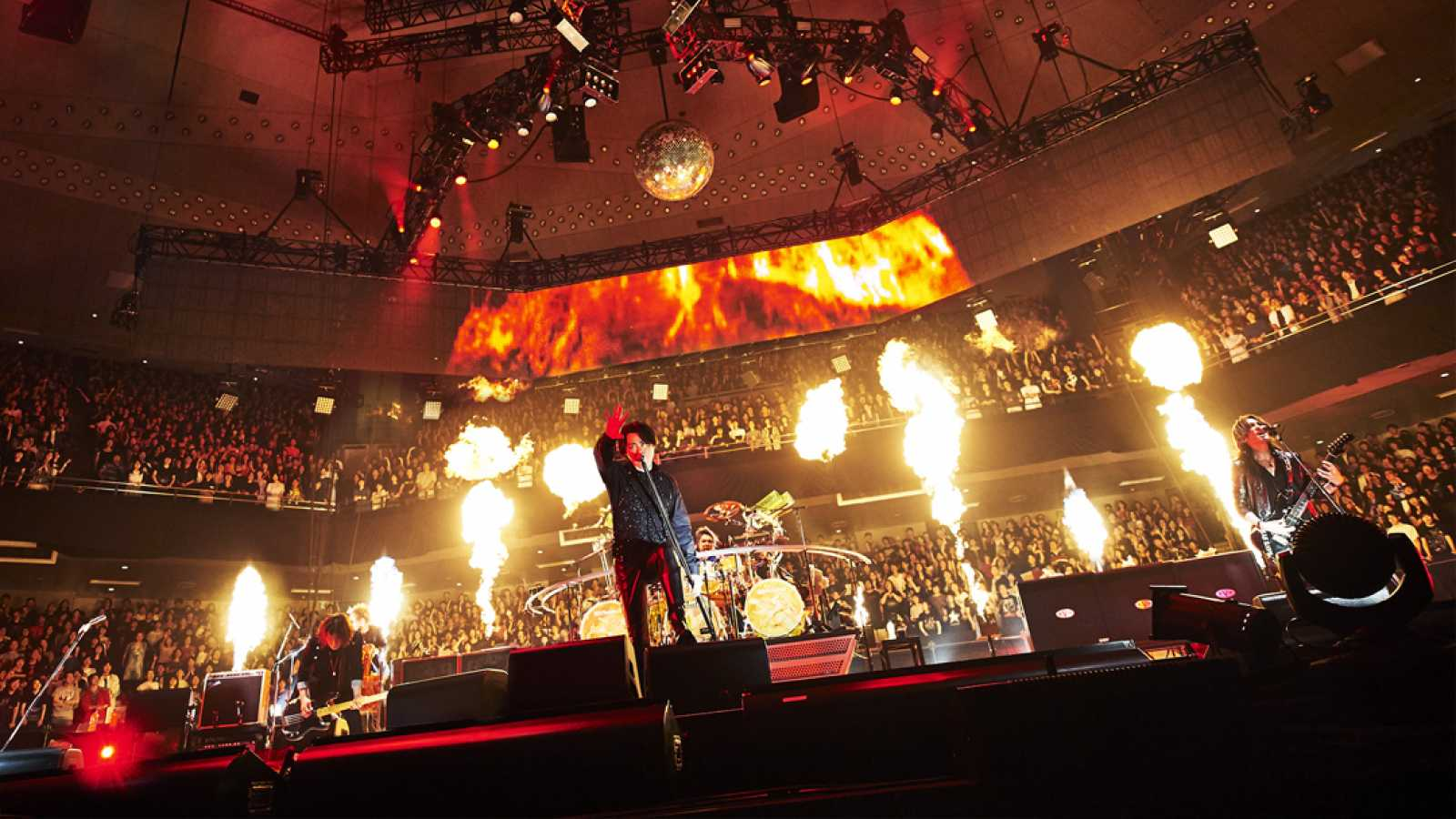 LUNA SEA 30th anniversary LIVE -Story of the ten thousand days- at Nippon Budokan Day 2 © Keiko Tanabe