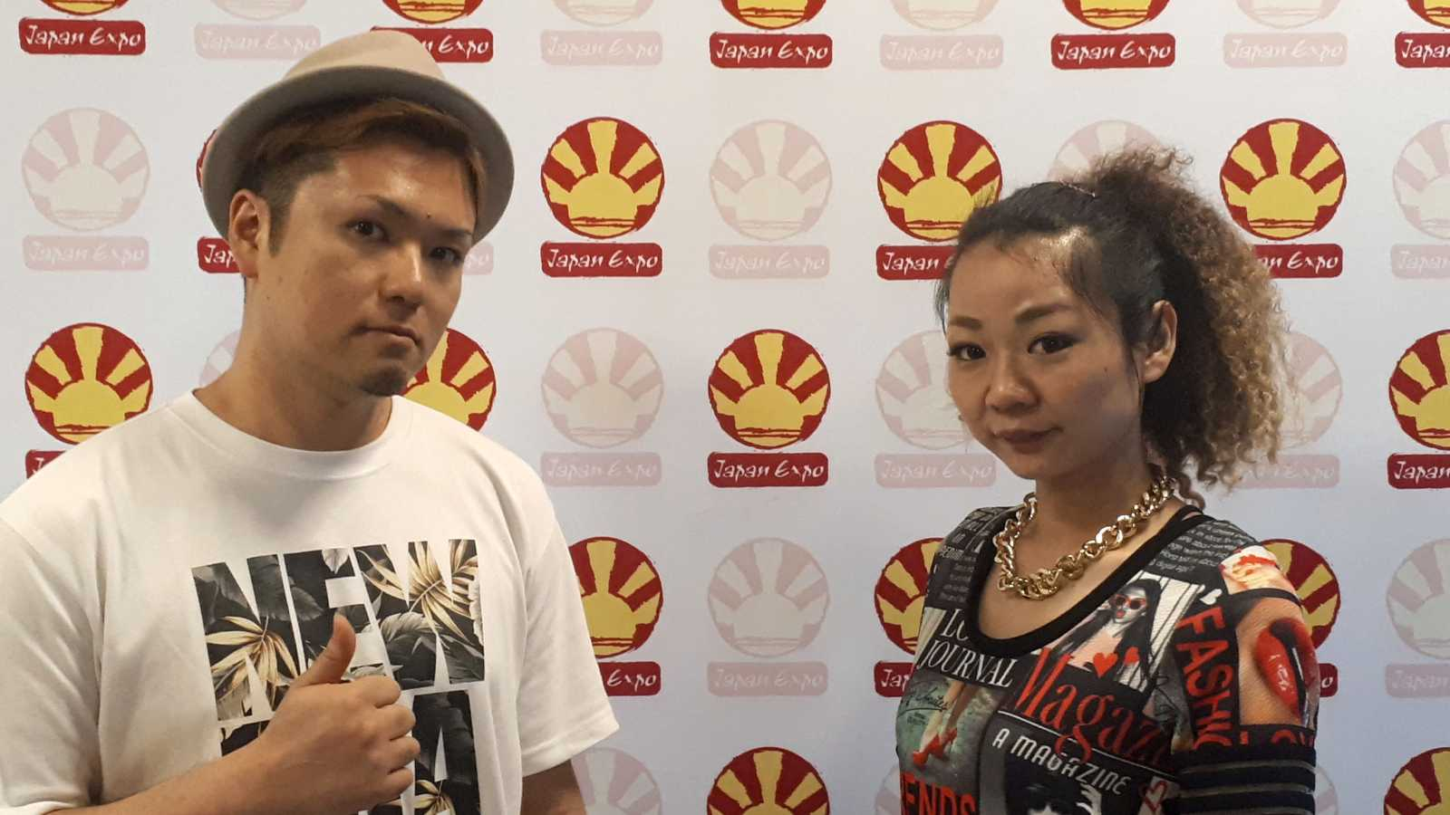 Interview d'ILU GRACE à Japan Expo 2019 © Aravinth
