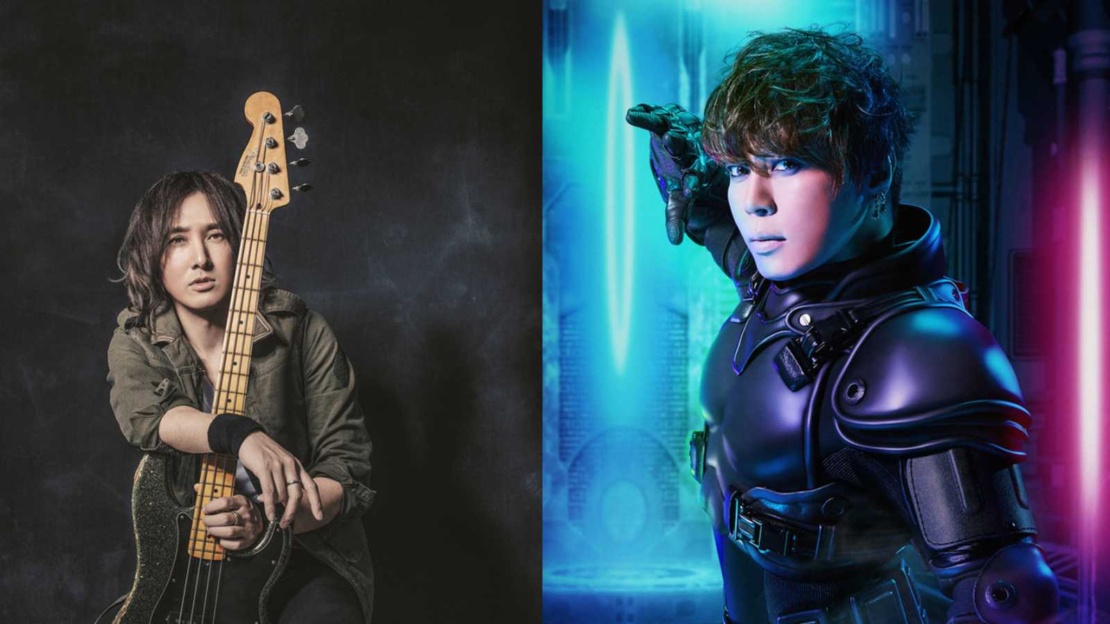 "LUNA SEA's J and Takanori Nishikawa Team Up for New ""Kamen Rider"" Theme © J×Takanori Nishikawa. All rights reserved."