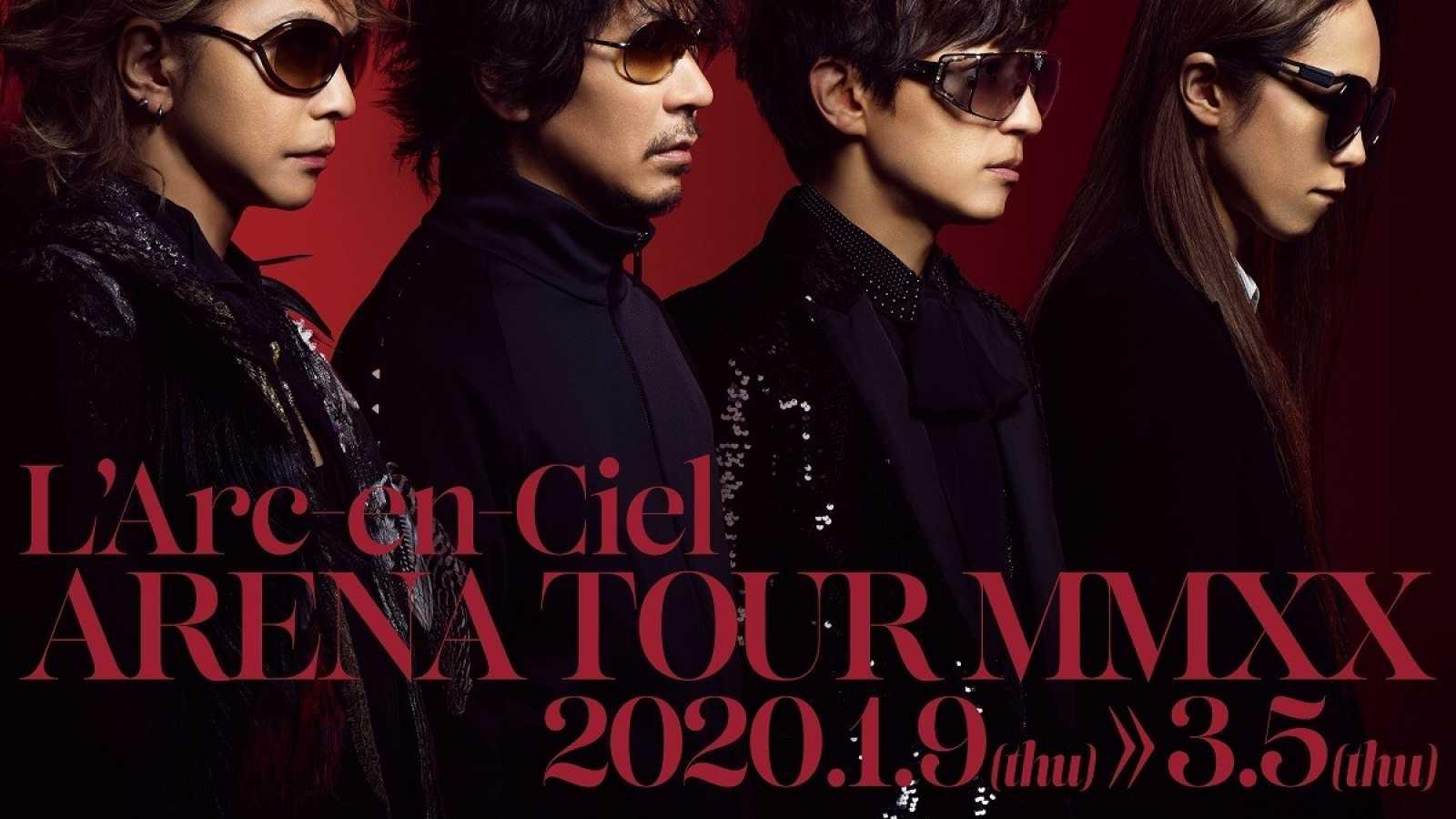 L'Arc-en-Ciel en tournée au Japon en prélude à leur 30e anniversaire © MAVERICK DC GROUP. All rights reserved.