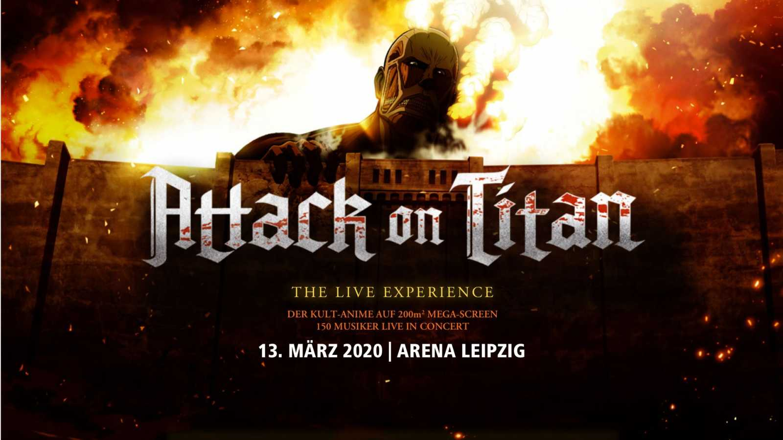 Gewinnt 2 Freikarten für Attack On Titan - The Live Experience © HK / AOT all rights reserved.