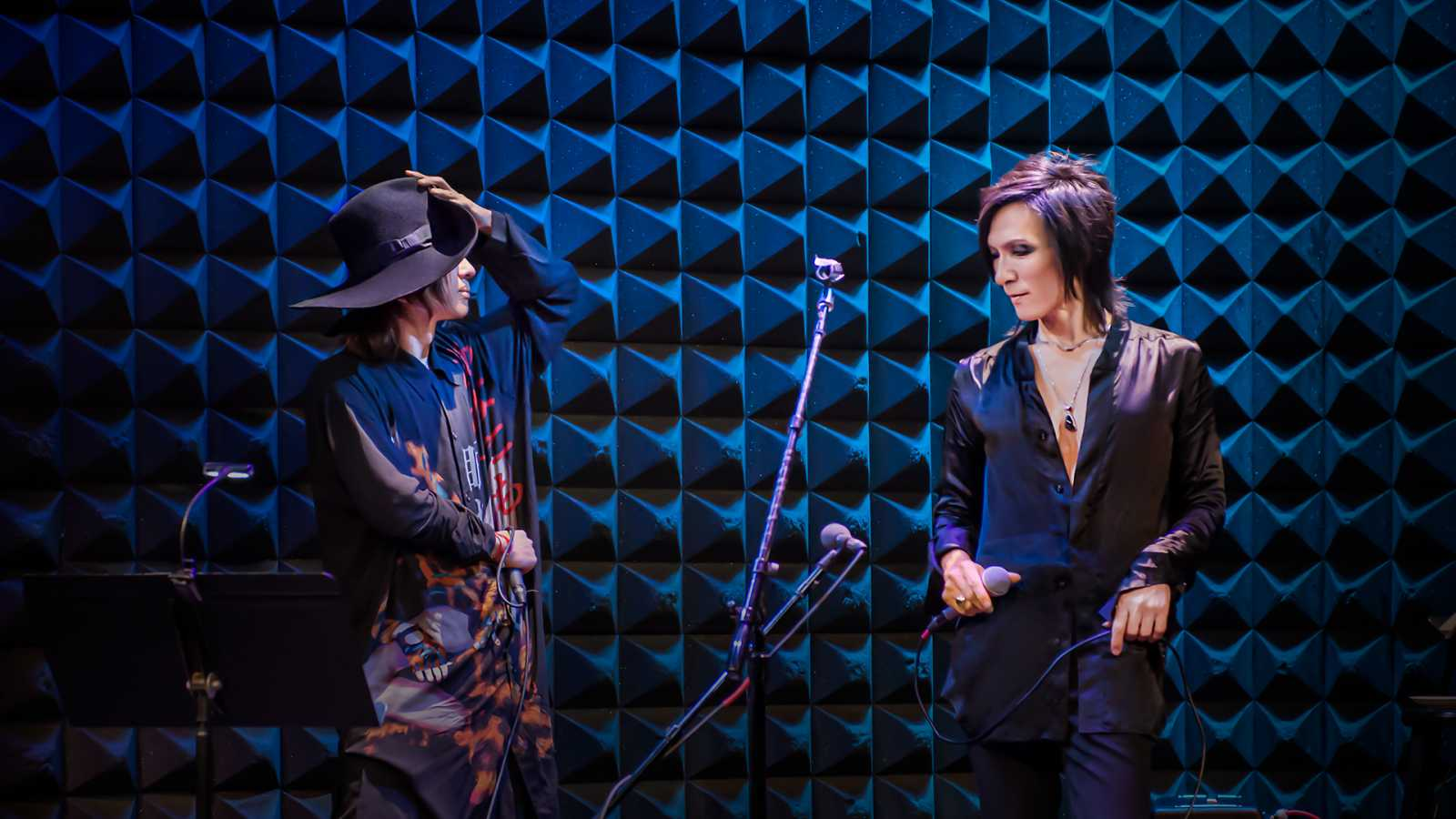 """MORRIE's Solitude & KIYOHARU's Elegy"" at Joe's Pub, New York City © Tregallery"