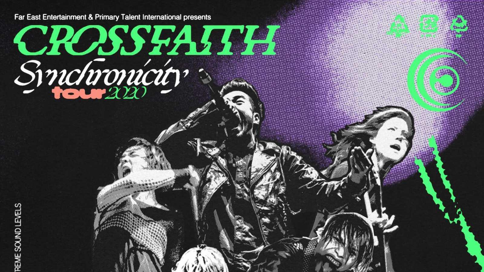 Nouvelle tournée européenne pour CROSSFAITH © All Rights Reserved