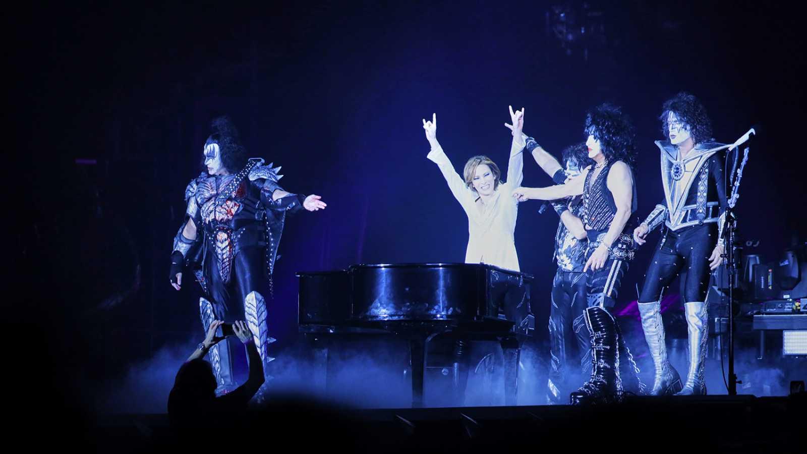 Niespodziewany występ YOSHIKIego z KISS w Tokyo Dome © YOSHIKI/KISS