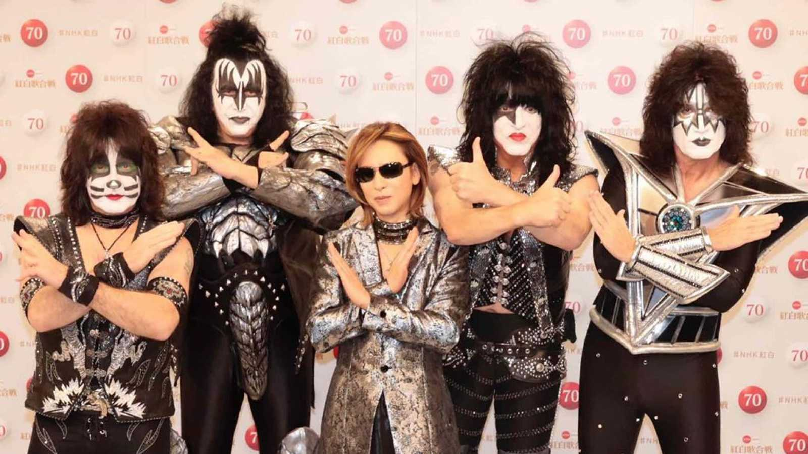 YOSHIKI to Collaborate with KISS for Kouhaku Uta Gassen Performance © YOSHIKI x KISS. Provided by Resonance Media.