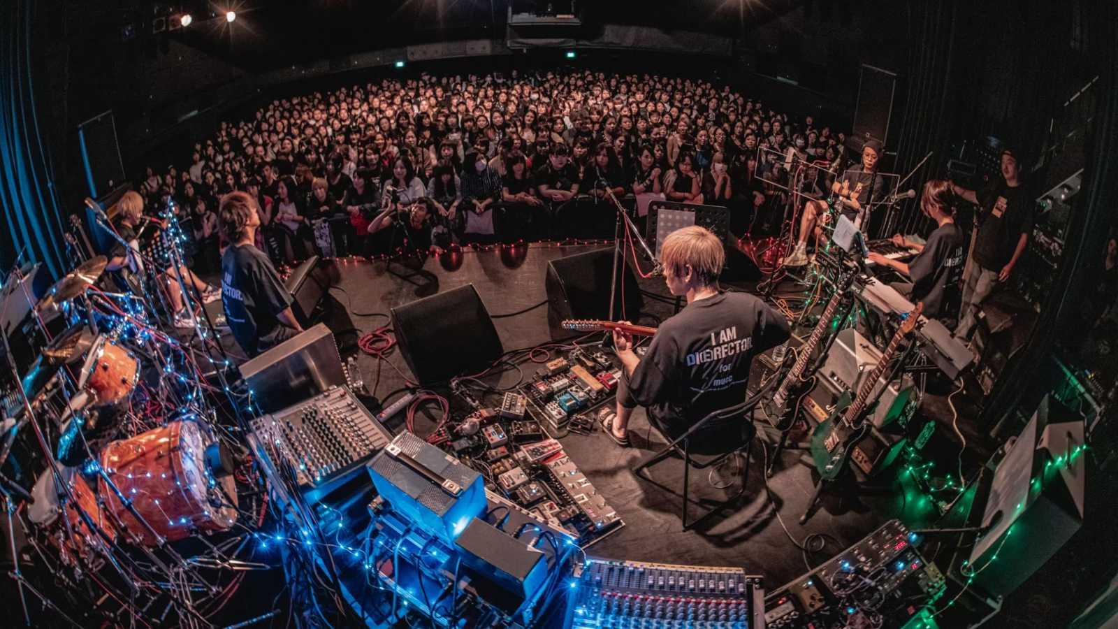 Free space -MUCC DEMO TAPE public recording Kansai edition- © Yuto Fukada