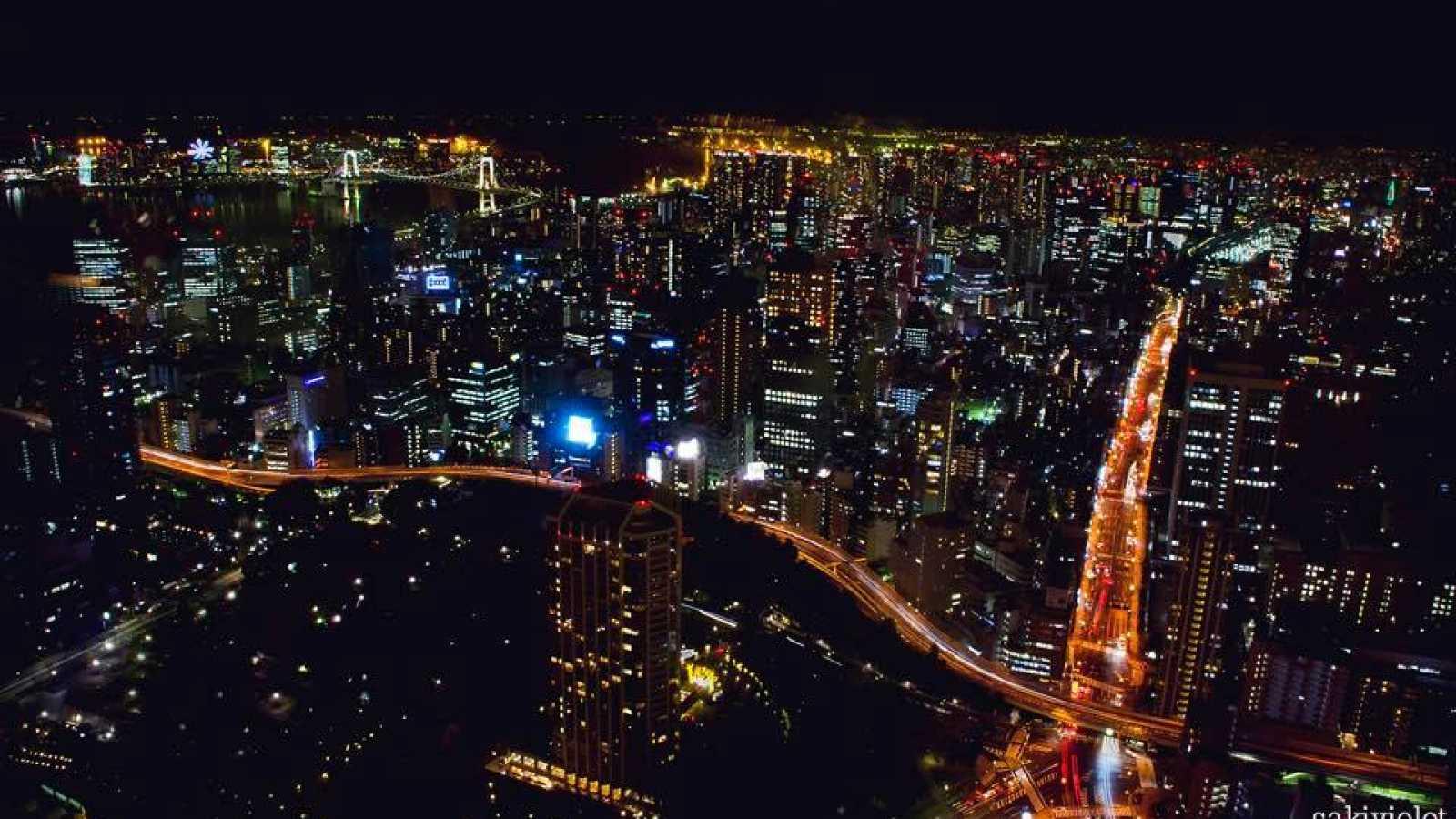 JaMEs Playlist mit unterschiedlichen Ansichten von Tokyo © SaKi