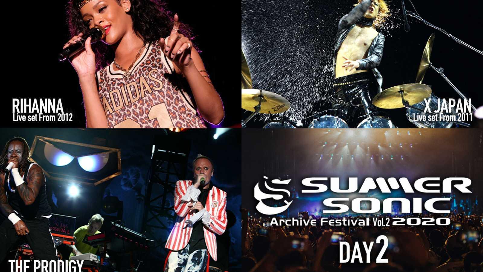 Summer Sonic 2020 transmitirá o show do X JAPAN de 2011