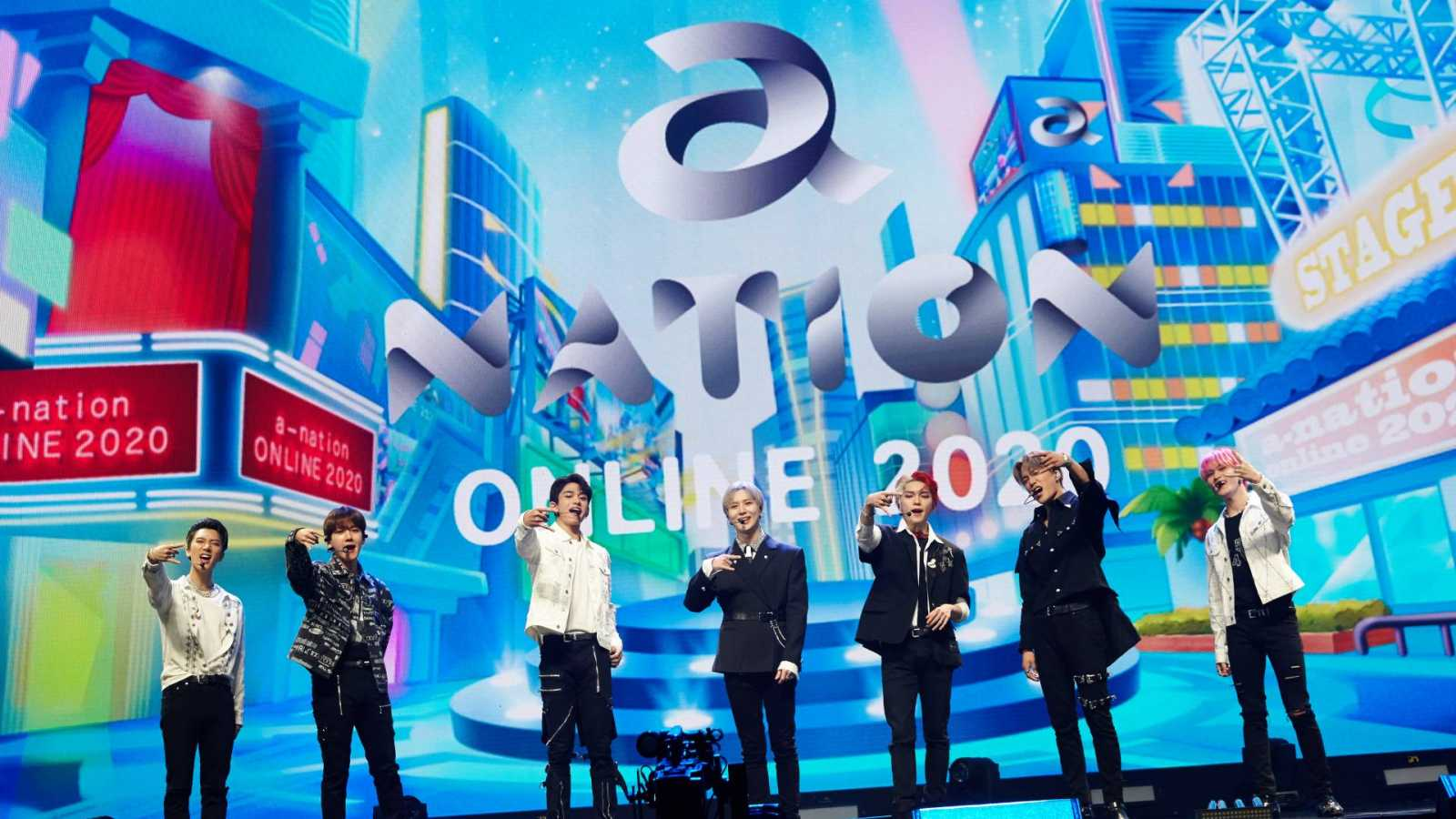 Red Velvet, EXO-SC, SuperM, and SUPER JUNIOR at a-nation Online 2020 © a-nation. All rights reserved.