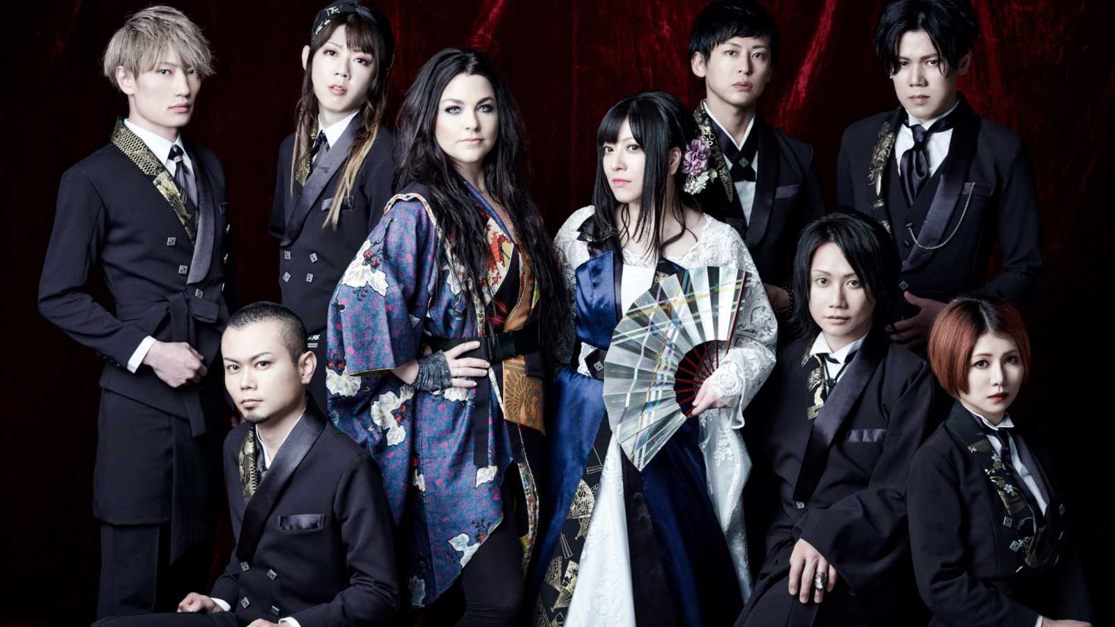 WagakkiBand lança novo single digital com Amy Lee © WagakkiBand x Amy Lee