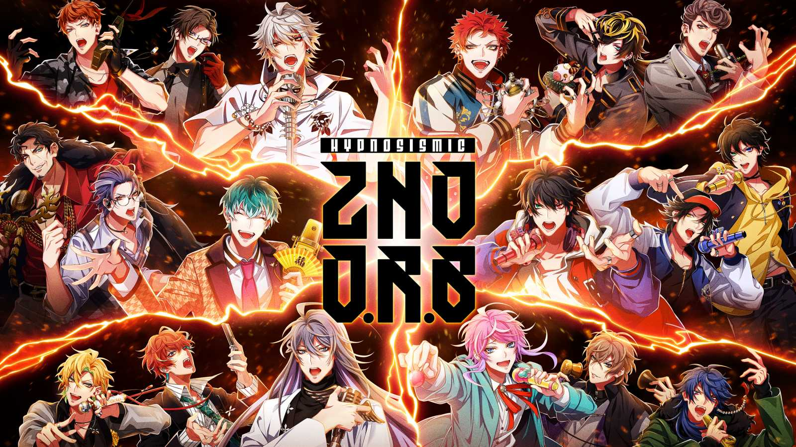 "Hypnosis Mic zapowiada trzy wydawnictwa w ramach ""2nd Division Rap Battle"" © EVIL LINE RECORDS. All rights reserved."