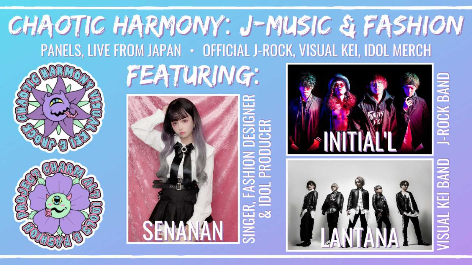J-Music & Fashion Panels Featuring Virtual Guests Announced for Otakon © Chaotic Harmony