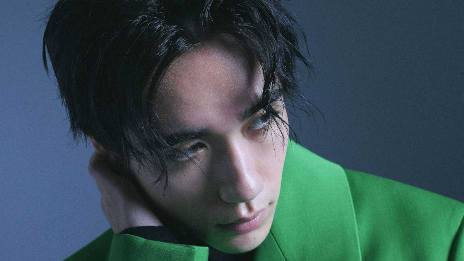 "Kaz Reveals Music Video for ""Drown feat. Hikari Mitsushima"" © Photo: Avex Entertainment, Clothing: Bottega Veneta"