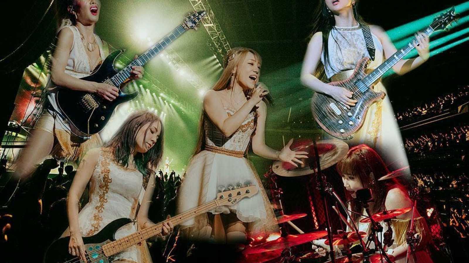Koncertowy album LOVEBITES zyska zagraniczne płytowe wydanie © JVCKENWOOD Victor Entertainment Corp. All rights reserved.
