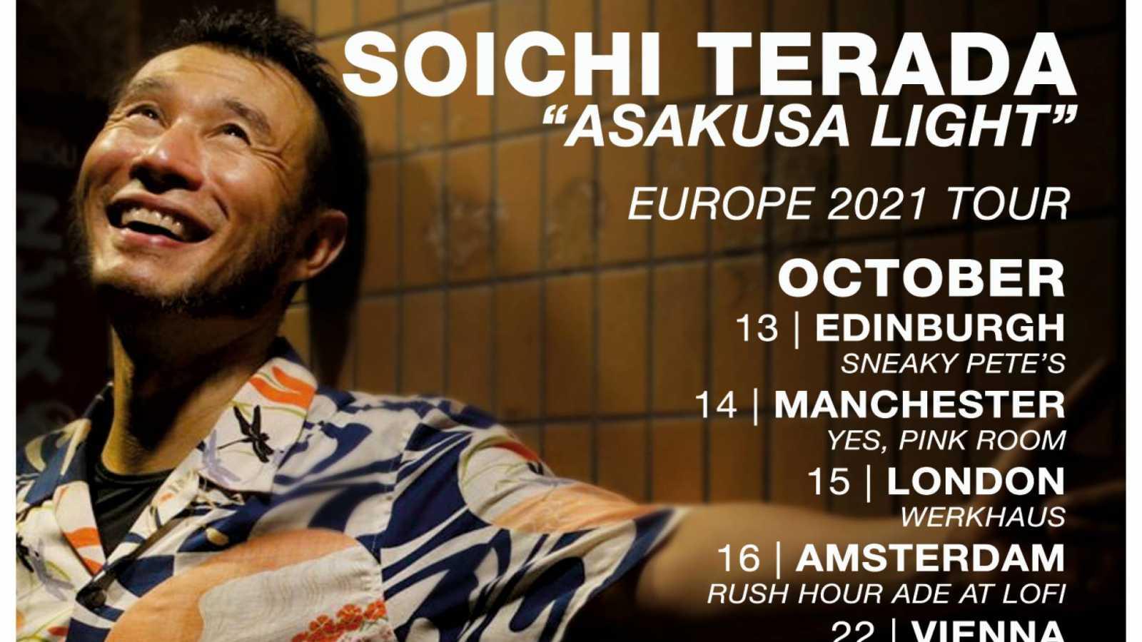 House-tuottaja Soichi Terada esiintyy Helsingissä kuun lopussa