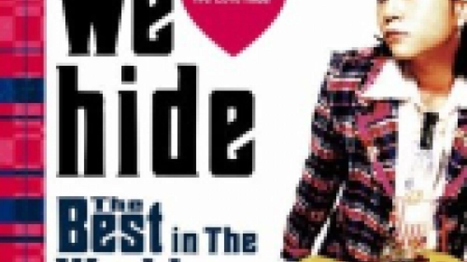 Details on hide's best-of album © JaME